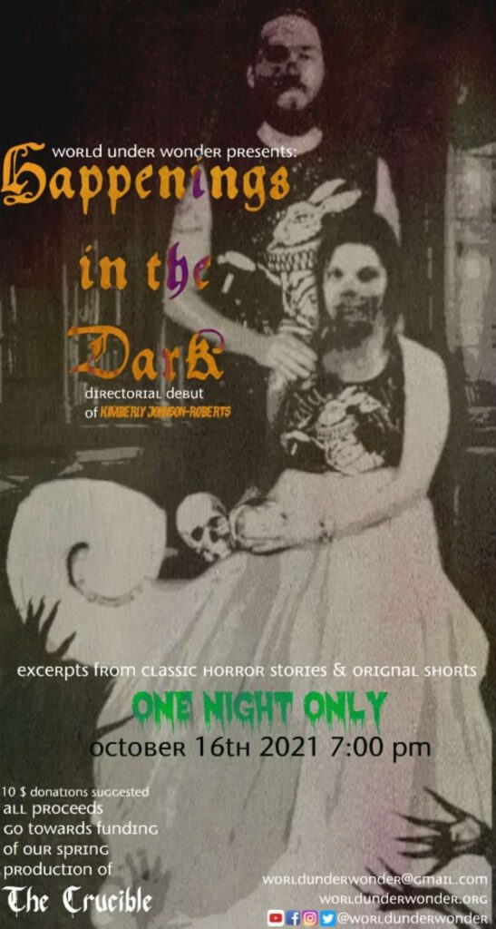 This year's production of Happenings in the Dark